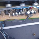 Bass preamp - prototyp
